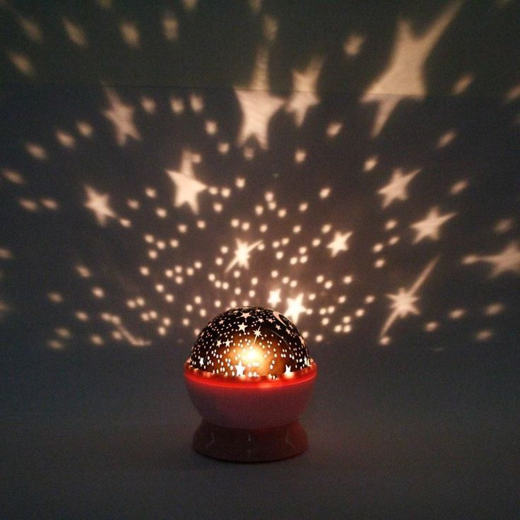 New Rotation Night Projector Light Lamp Star Sky Romantic Fairy Random  Color   Lights  Star night light and Garden lamps. New Rotation Night Projector Light Lamp Star Sky Romantic Fairy