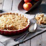 Recept: Suikervrije en koolhydraatarme appelcrumble cake