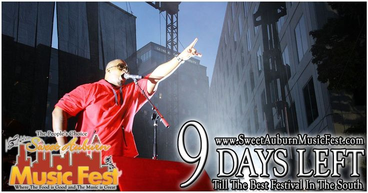 9 More Days till the best festival in the Atl! Something there for everyone in the Family! Hope to see you there! @sweetauburnmusicfest  #sweetauburnmusicfest #samusicfest #samusicfest2017 #Atlanta #picoftheday #1 #hiphop #randb #musicians #music #soul #jazz #gospel #fest #festival #auburnave #edgewood #4thward #history #vendors #food #international #Georgia #family #friends #people #goodfoodgreatmusic