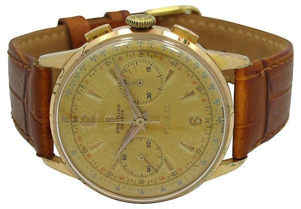 956 Breitling Chronograph,  FIGA | Retro Cool | One Kings Lane