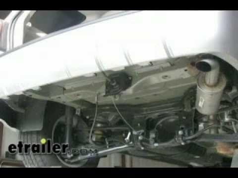 Trailer Hitch Installation - 2010 Ford Escape - etrailer.com - YouTube