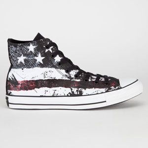 CONVERSE Stars & Bars Chuck Taylor All Star Hi Mens Shoes