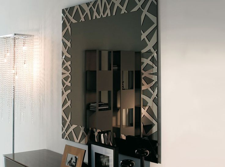 Kenya Square Wall Mirror by Cattelan Italia - $1,375.00
