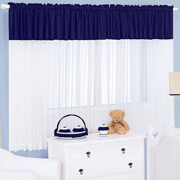 17 melhores ideias sobre cortinas azul marinho no pinterest ...