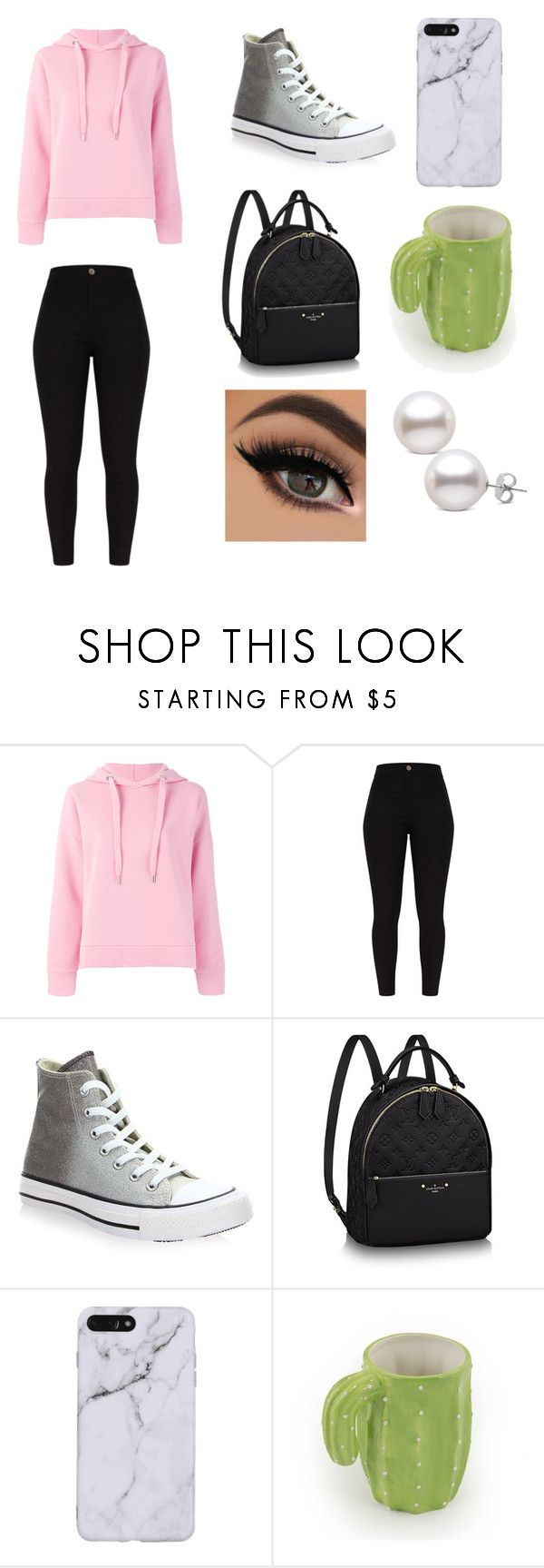 """Lazy Saturday"" by kacey2882 ❤ liked on Polyvore featuring Closed and Converse"