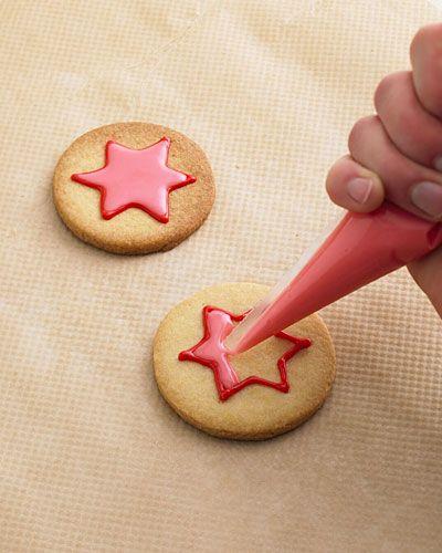 Zweifarbig mit Zuckerguss dekorieren (Baking Desserts Tips)