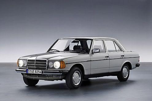 Mercedes Benz W123 300D 1980