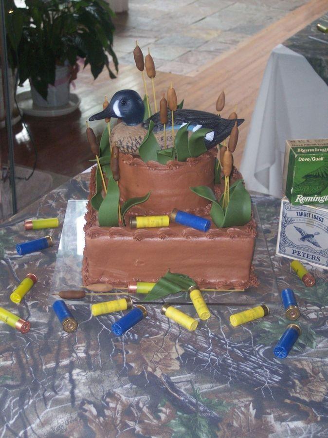 Duck Hunting Cake Ideas | Duck Hunter Grooms cake — Fishing / Hunting