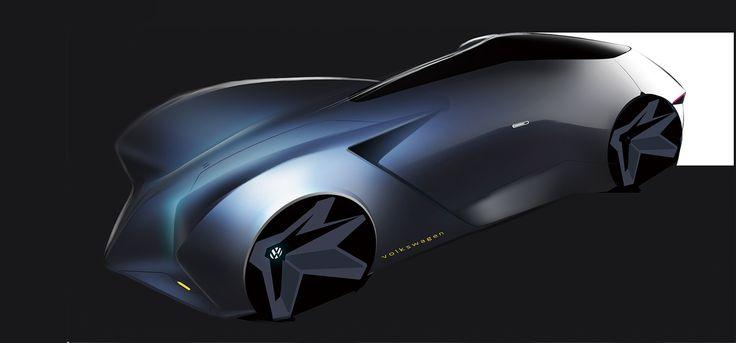 Volkswagen autonomous dreamcar concept on Behance
