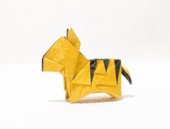 Instruction-origami Tiger (diagrams) | origami | Origami ... on