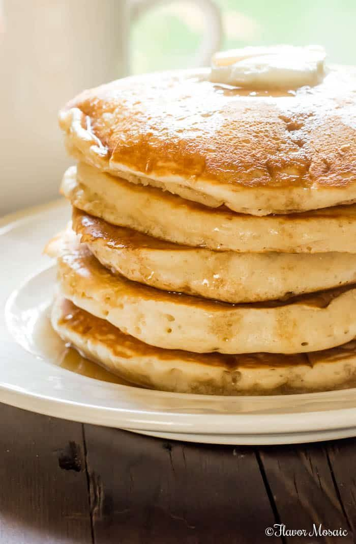 Turn Your Kitchen Into A Pancake House With This Old Fashioned Fluffy Pancake Recipe Made From Scra Fluffy Pancake Recipe Old Fashioned Pancake Recipe Recipes