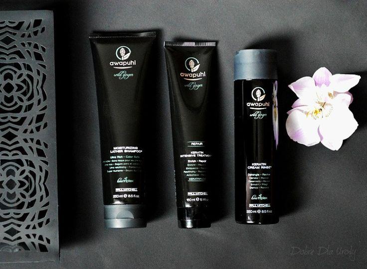 Paul Mitchell Awapuhi Wild Ginger seria kosmetyków do włosów z kompleksem Kera-Triplex
