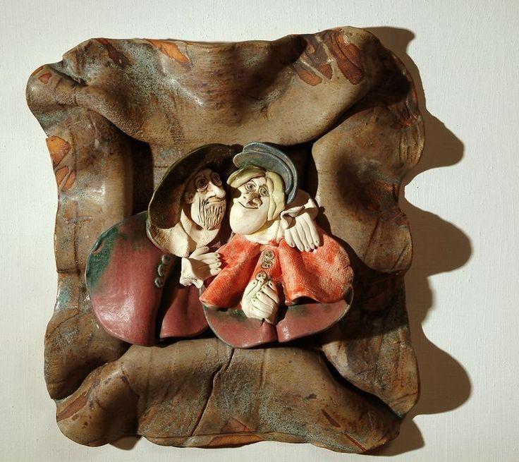 Ceramic wall-decor - Andrea Vertel