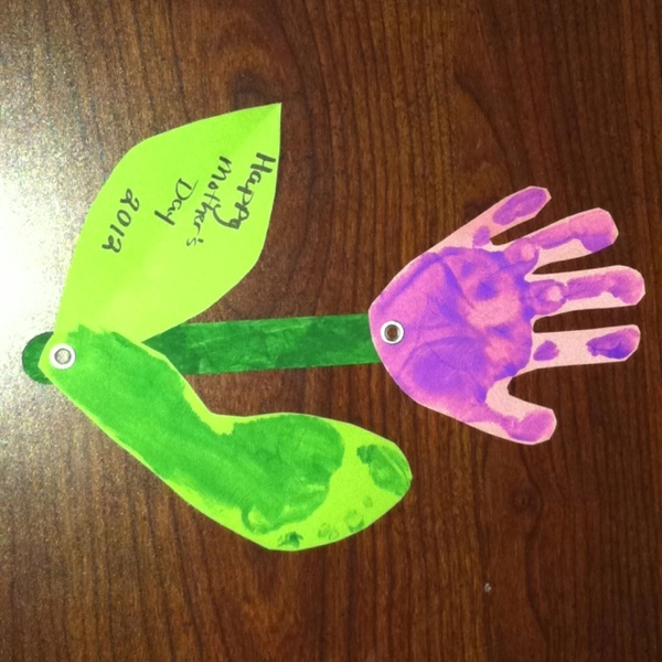 Mothers day craft crafts