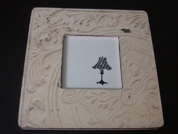 Decoupage Distressed Picture Frame with by SassyPlanetBoutique, $15.00