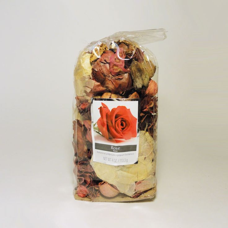 Bag of Rose Scented Botanical Potpourri - SBP481 - Bag of rose scented botanical potpourri. Use with our electric scented tart / candle warmer combos. Simple fill the bowl with the potpourri and let the aroma fill the air. Or add potpourri to the bowl, cover with water, and plug in the combo. FOR SALE