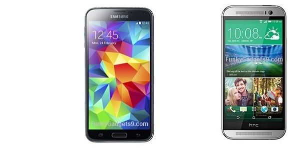 Samsung Galaxy S5 vs HTC One M8 (2)