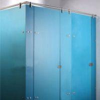 blue glass shower | Glasart frei wählbar unbegrenzte Anzahl verschiedene Schließsysteme