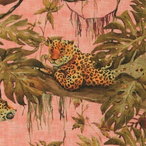 Strukturgewebe, Rosa mit Dschungel