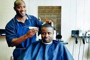 Hair and skin care for black men: