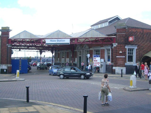 Hove Railway Station (HOV) in Hove, Brighton and Hove