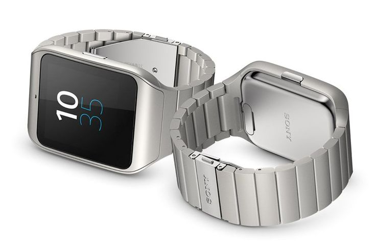 CES 2015 – SONY SMARTWATCH 3 STAINLESS STEEL EDITION