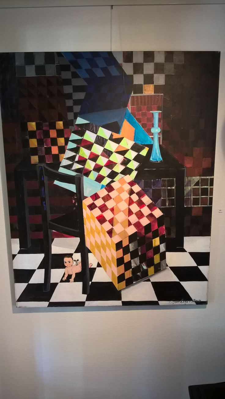 Skæve tanker i #galleri3g #art