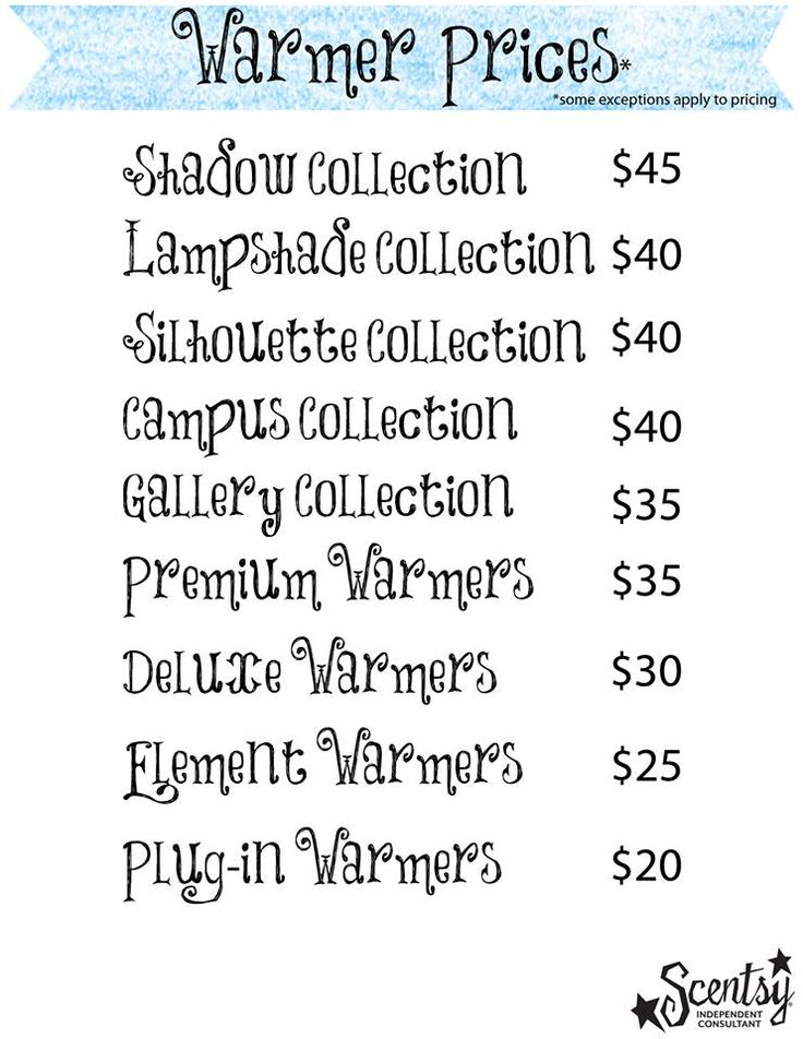 Scentsy Warmer Prices But If You Throw An Online Party With Me We Can Try Get