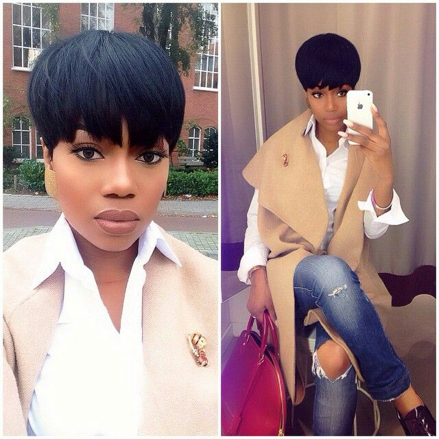 Awesome 1000 Ideas About Sew In With Bangs On Pinterest Crochet Short Hairstyles Gunalazisus