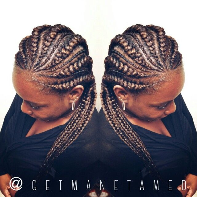 Ghana braids /cornrows /big cornrows/feed in cornrows/glamour braids. Follow me on instagram @getmanetamed.