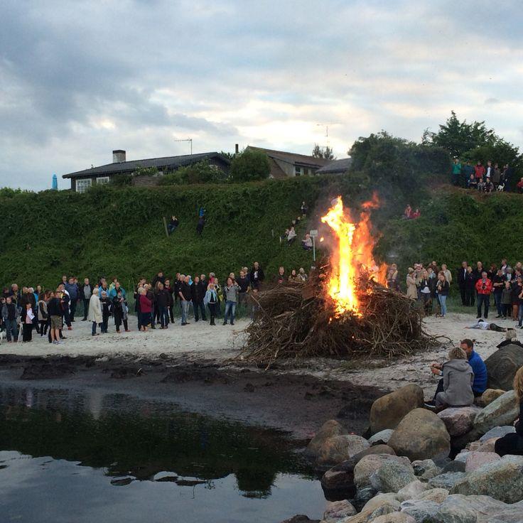 Sankt Hans aften 2015 Rødvig Havn ❤️