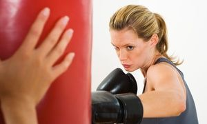 Groupon - Ten Classes or One Month of Kickboxing Classes with Gloves at Martial Arts USA Hit Kickboxing (Up to 80% Off) in Multiple Locations. Groupon deal price: $49