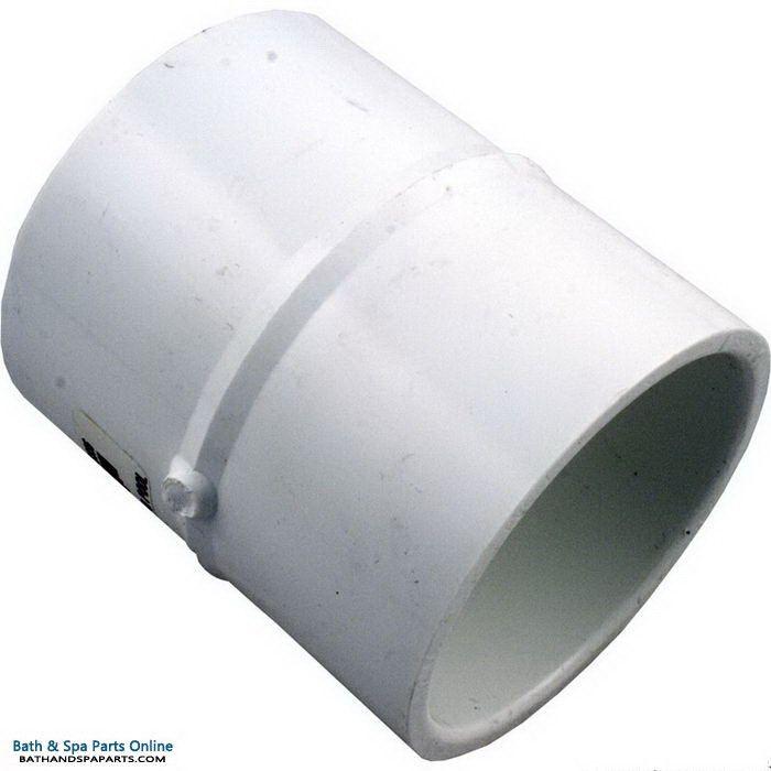 """Lasco SCH40 PVC Coupling [2.5"""" Slip x 2.5"""" Slip] (429-025)"""