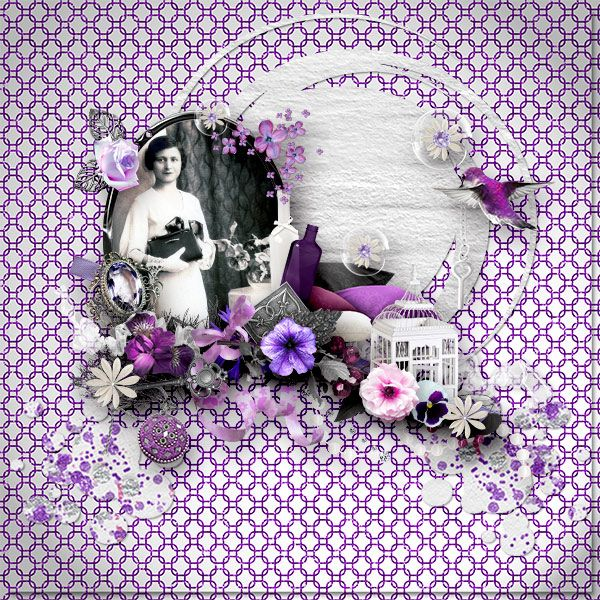 *Fifty Shades of Purple * by Samal designs http://www.digiscrapbooking.ch/shop/index.php… http://samaldesigns.com/…/…/all/fiftyshadesofpurple-kit.html
