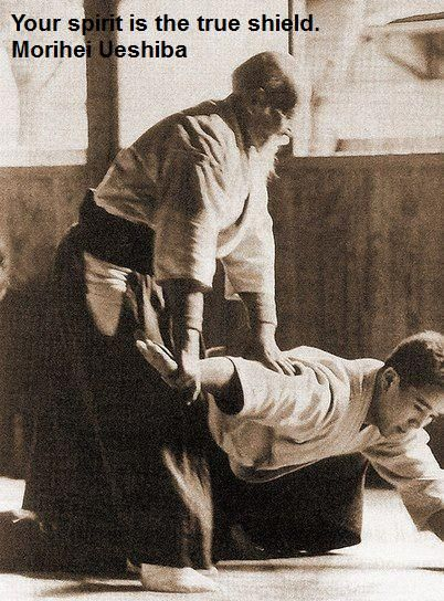 Aikido quote from master Ueshiba