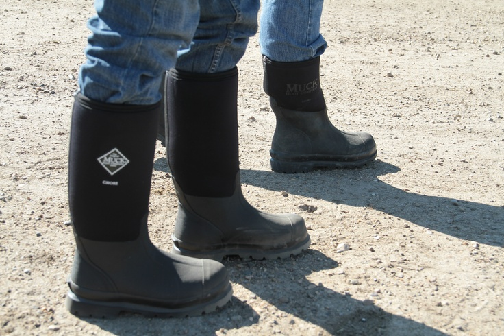 The Chore Hi Black Muck Boot is an all-rounder in terms of use. We ...