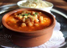 Cigi's World: Pilav Nohut [plat turc de riz servi avec des pois chiches en sauce]