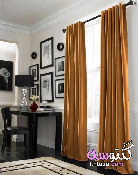ستارة مخملية الوان الستائر المخملية المودرن الستائر المخملية المطرزةوالشيفون أنيقة الستائر المخم Grey Curtains Living Room Curtains Living Room Curtains Living