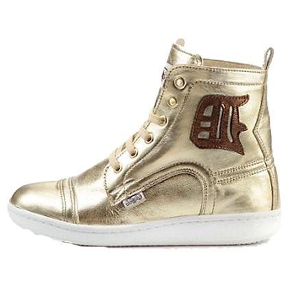 Lässige #Sneaker in #Gold von #Buffalo. Die Sneaker haben eine funkelnde Metallicoptik für einen aufregenden und trendigen #Style. ♥ ab 79,90 €