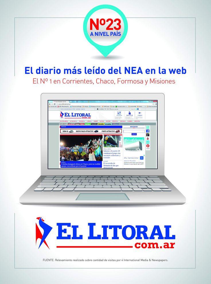 El Litoral, el #diario más leído de la #región   Desde la Redacción les decimos GRACIAS a todos nuestros lectores, por el apoyo y la constante colaboración para seguir creciendo.