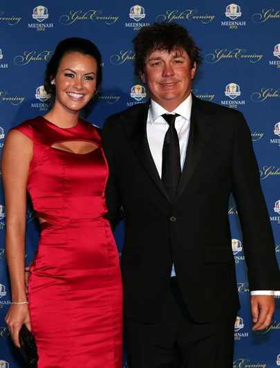 Ryder Cup gala: Jason and Amanda Dufner Golf in Phuket www.phuketgolfleisure.com