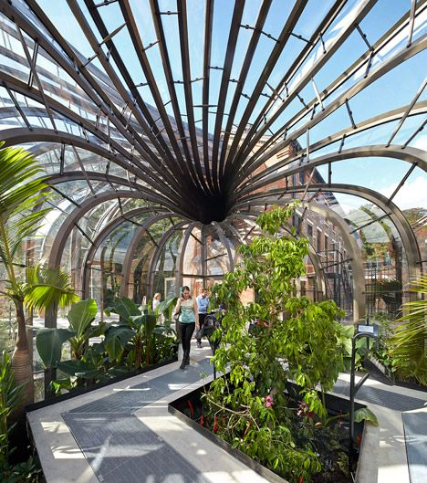 Do you love Bombay Sapphire Gin? Love Architecture? Love Thomas Heatherwick? Then you'll love the new Bombay Sapphire distillery at Laverstoke Mill in Hampshire, England.