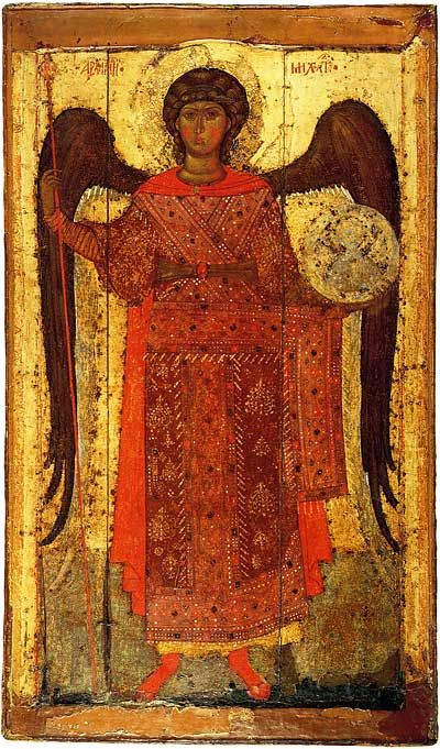 The Archangel Michael, Late 13th century, from Yaroslavl, Russia