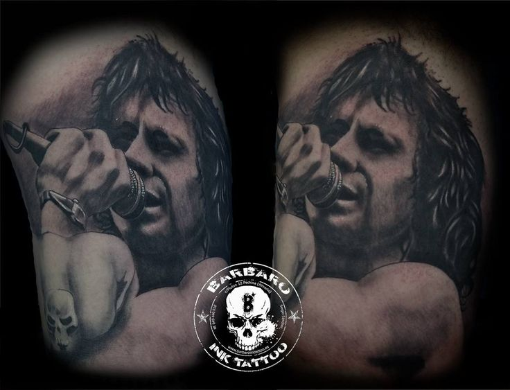 #tattoo #tattooist #tattooed #bestspaintattooartist #blackandgreytattoo #bonscott #bonscotttattoo #acdc #acdctattoo #hardrocktattoo #rocktattoo