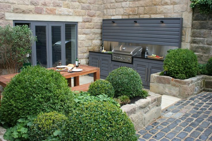 Inspired Garden Design - outdoor kitchen.