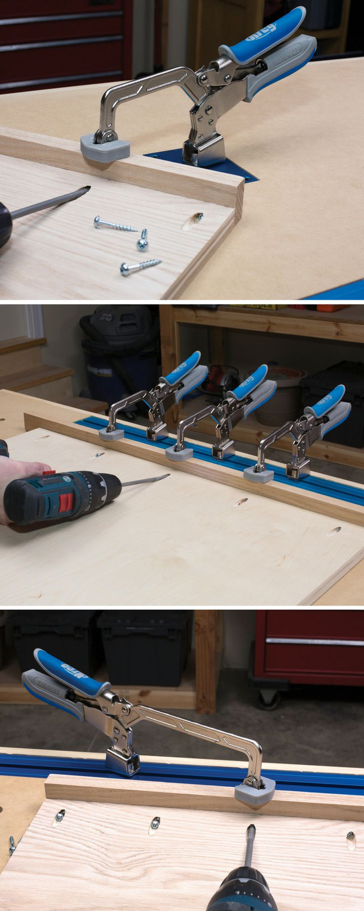 kreg bench clamps offer a fast