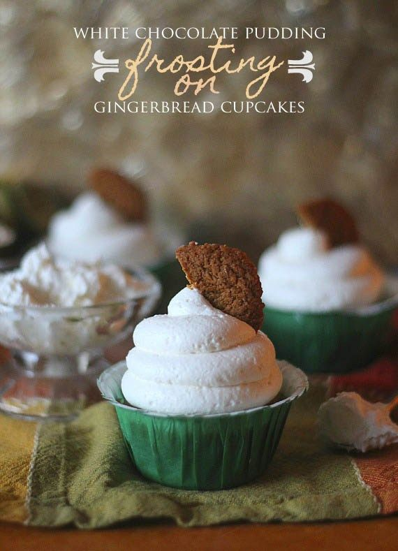 Gingerbread cupcake recipe using cake mix