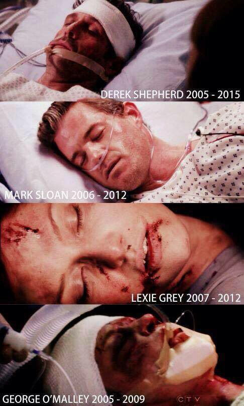 IS THIS A SPOILER?! Does Derek die?! I hate that American and British tv is out of sync
