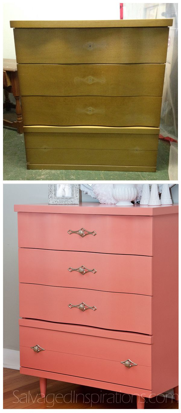 Best 25+ Coral dresser ideas on Pinterest | Coral painted dressers ...