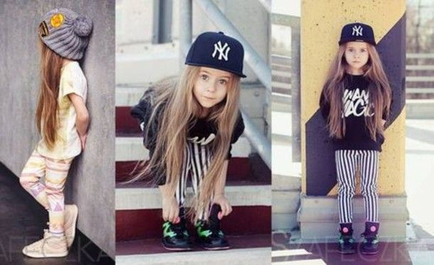 Girls With Swag Clothing | Sweater: kids, swag, clothes, new york, striped pants, jordans, dope ...